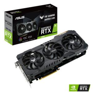 ASUS TUF Gaming GeForce RTX 3060 OC Edition Graphic Card TUF-RTX3060-O12G-GAMING