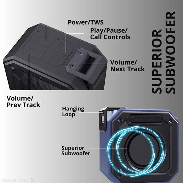 fire boltt bs1200 bluetooth speaker blue 6