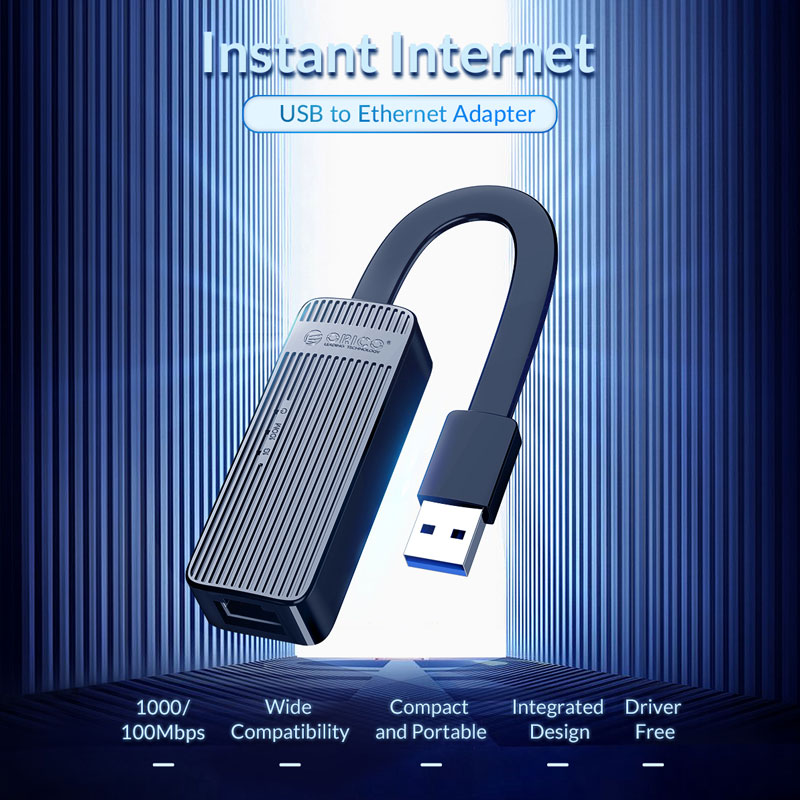 orico usb to ethernet adapter 100mbit 6