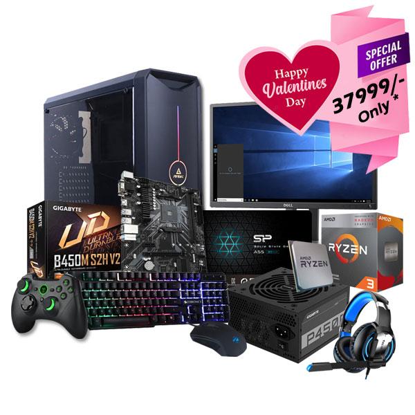 AMD Ryzen 3 3200G Assembled Desktop PC