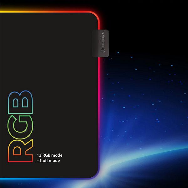 zebronics zeb blaze rgb gaming mouse pad 3