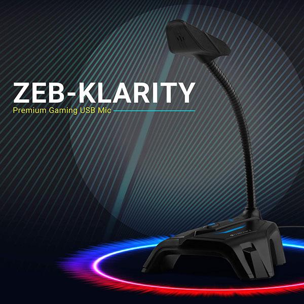 zebronics zeb klarity usb gaming mic 2