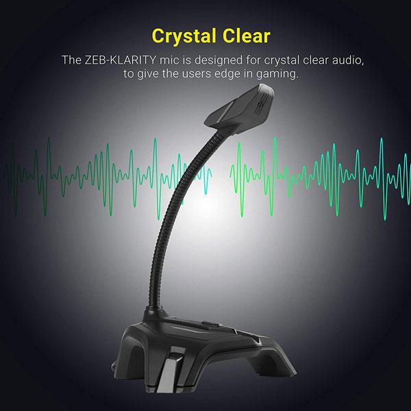 zebronics zeb klarity usb gaming mic 3