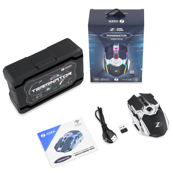 zoook terminator rechargeable wireless mouse 7