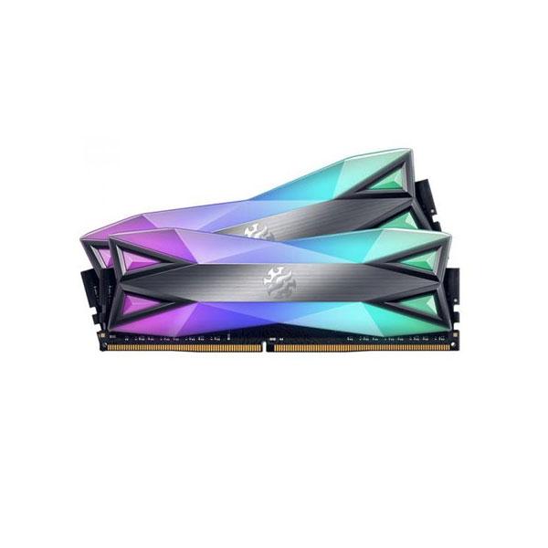 XPG Spectrix D60G 16GB (8GBx2) DDR4 3600MHz RGB RAM AX4U360038G18A-DT60