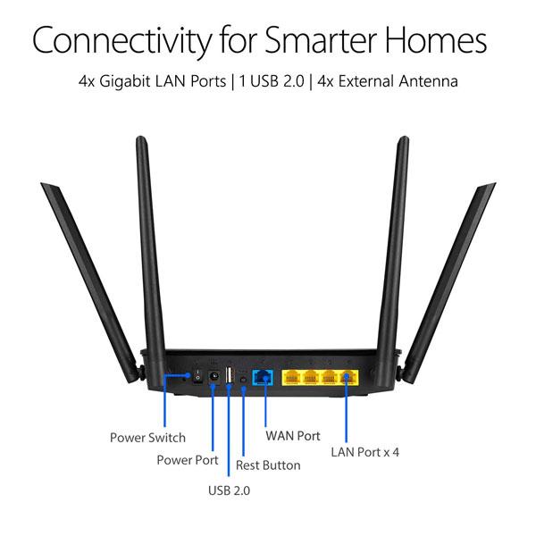 asus rt ac59u v2 ac1500 dual band gigabit wifi router 3
