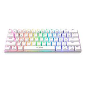 Gamdias Hermes E3 RGB White Mechanical Gaming Keyboard