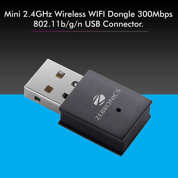 zebronics zeb usb 150wf wifi usb mini adapter 3