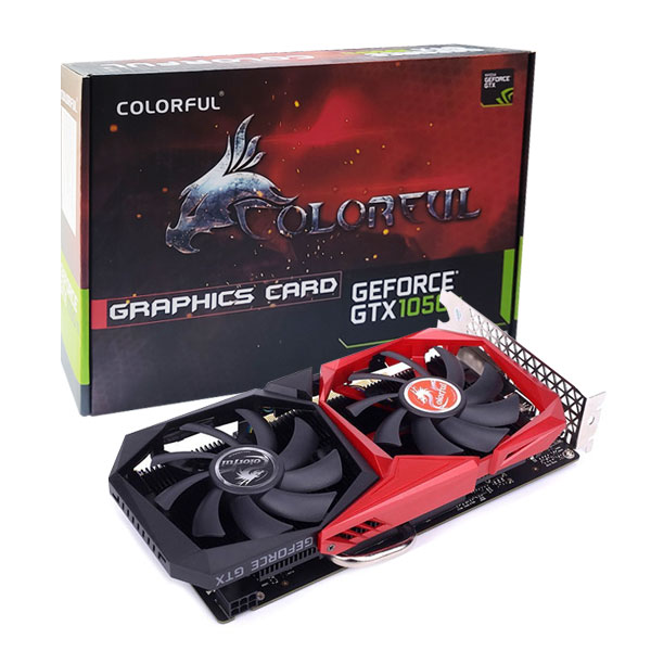 Colorful GeForce GTX 1050 Ti 4GB GDDR5 Graphics Card GTX1050Ti-NB-4G-V