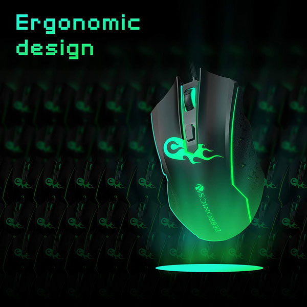 zebronics zeb clash gaming mouse 5