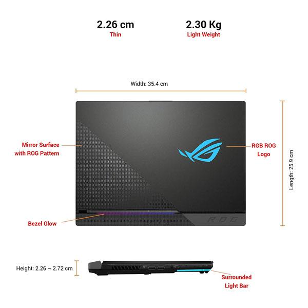 ASUS ROG Strix Scar 15 Ryzen 7 5800H Gaming Laptop G533QS-HQ102TS