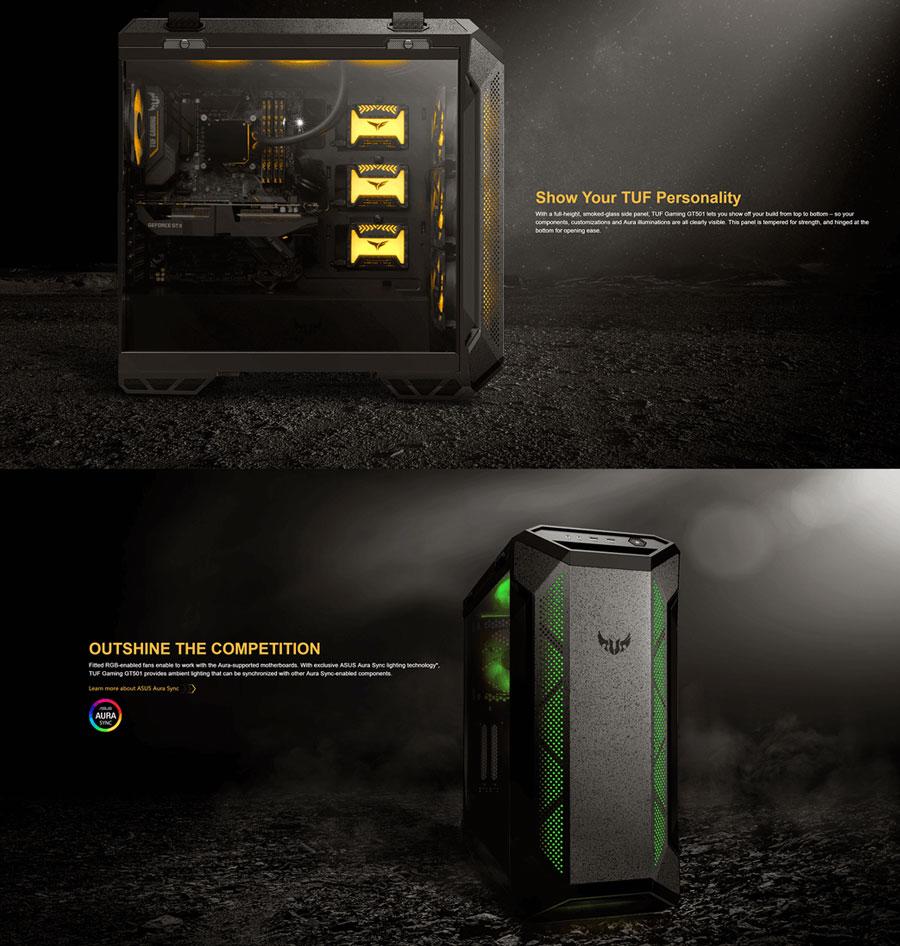 asus tuf gaming gt501 cabinet black 8
