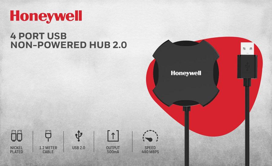 Honeywell 4 Port USB HUB 2.0 Non-Powered