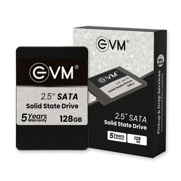EVM EVM25 128GB 3D NAND SATA 2.5 inch Internal SSD Solid State Drive