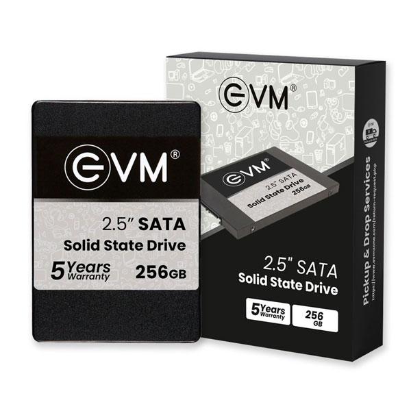 EVM EVM25 256GB 3D NAND SATA 2.5 inch Internal SSD Solid State Drive