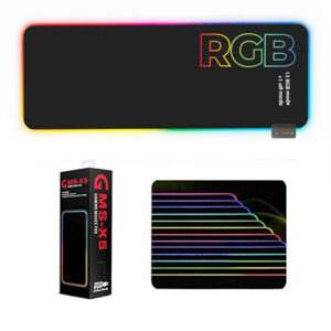 GMS WT-5 RGB Gaming Mouse Pad Extended Size 800x300 mm