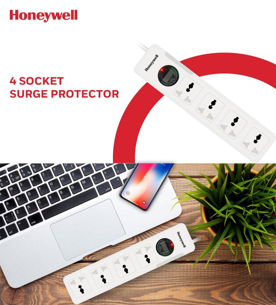 Honeywell Platinum Series 4 Socket Surge Protector