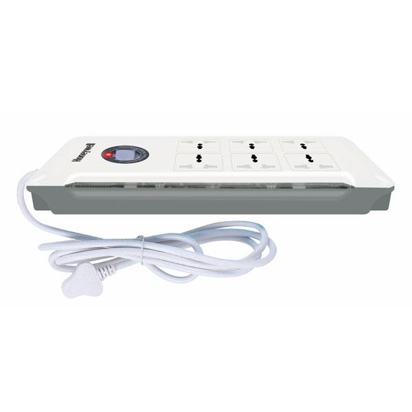 honeywell 6 socket surge protector 3