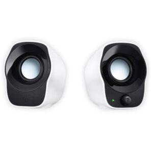 Logitech Z120 Stereo Speaker (Black and White)