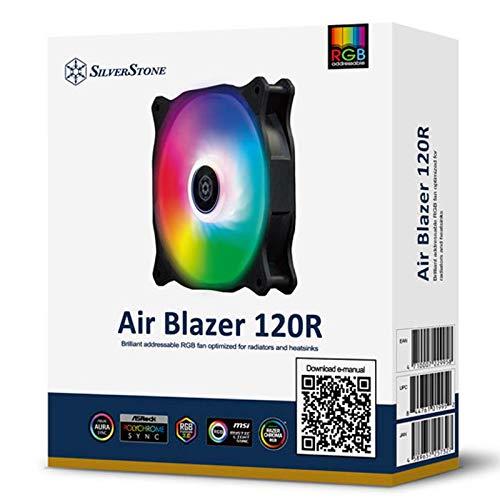silverstone air blazer 120r argb case fan 7