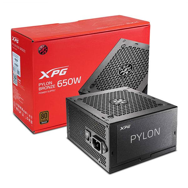 Adata XPG Pylon 650W 80 Plus Bronze SMPS Power Supply