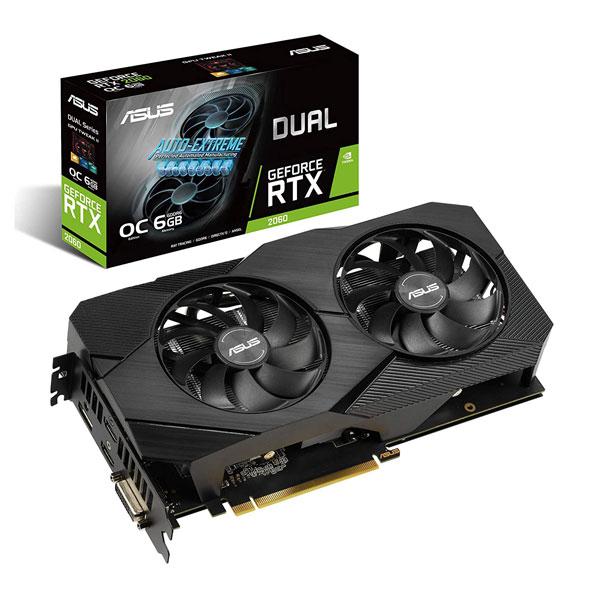 Asus Dual RTX 2060 Auto Extreme EVO OC Edition 6GB Graphics Card