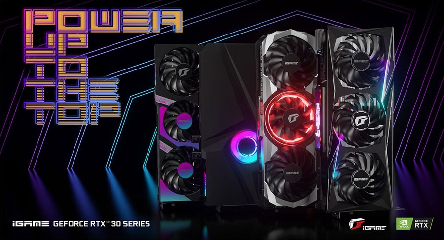 Colorful iGame RTX 3070 Ultra W OC-V 8GB Graphics Card