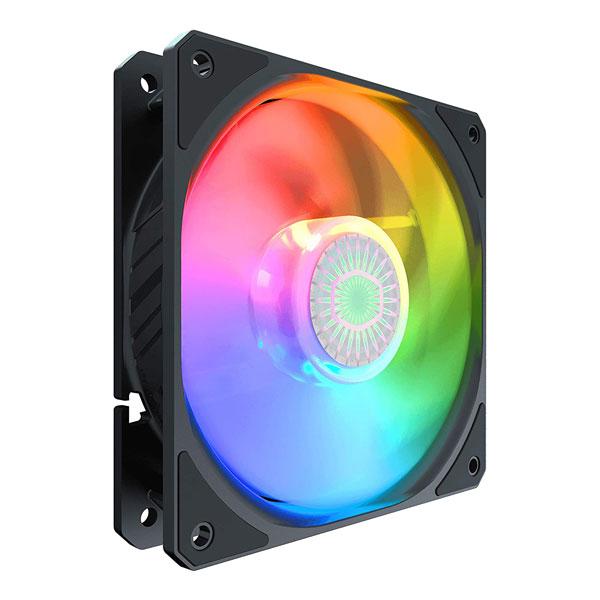 coolermaster sickleflow argb cabinet fan single 3