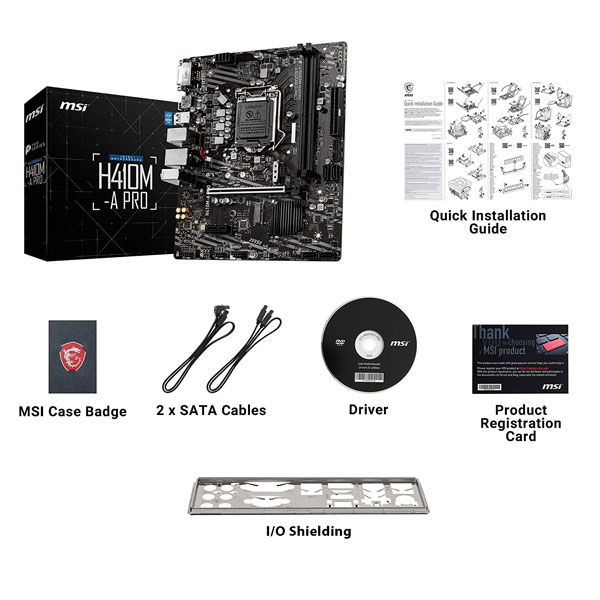 msi h410m a pro motherboard 7
