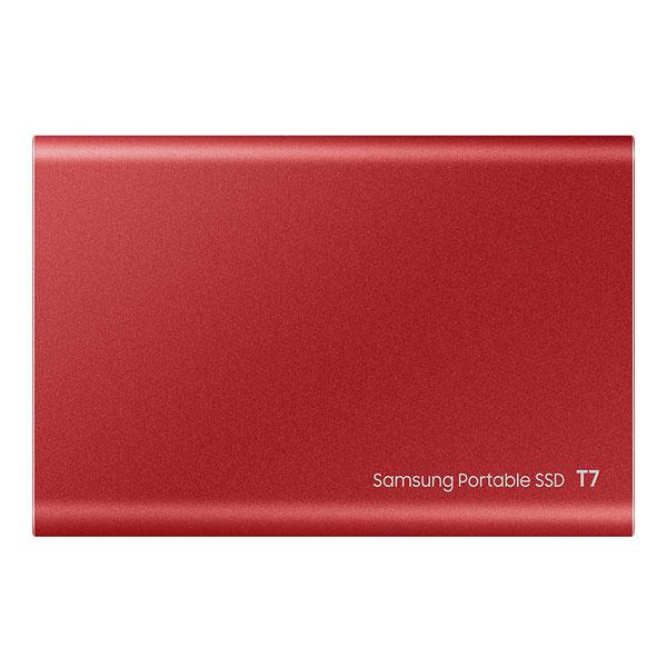 samsung t7 500gb external ssd red 3