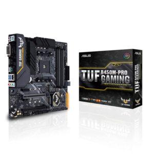 ASUS TUF GAMING B450M PRO II Motherboard Amd Socket AM4/Ryzen 2nd Gen Series CPU