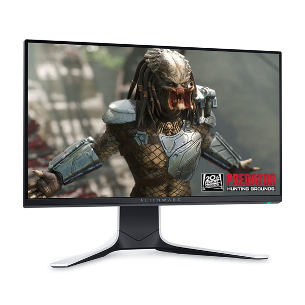 Dell Alienware 24.5 inch Full HD IPS Gaming Monitor (AMD FreeSync Premium Technology, 240 Hz, Lunar Light) AW2521HFL