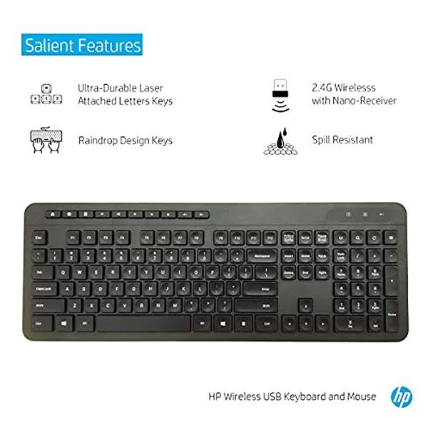 hp 1f0c9pa wireless keyboard mouse combo 2