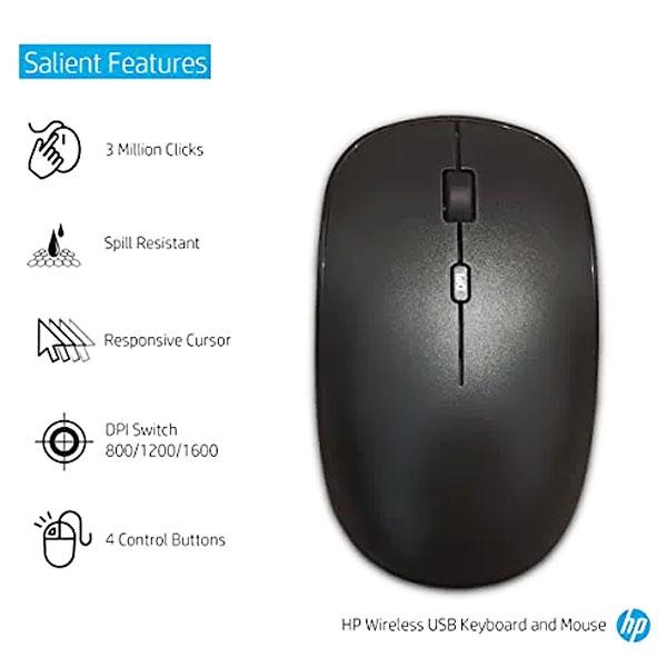 hp 1f0c9pa wireless keyboard mouse combo 3