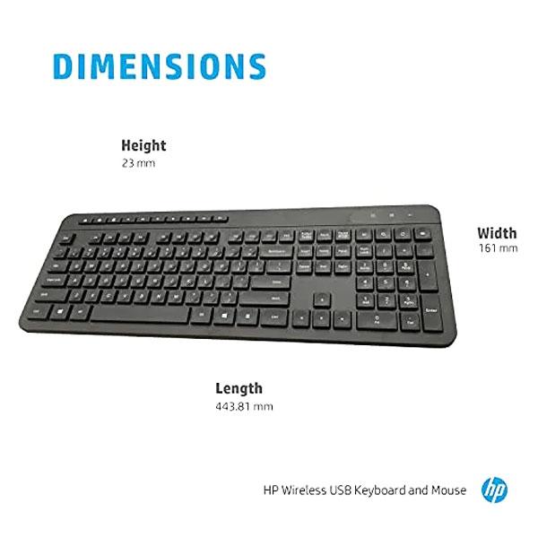 hp 1f0c9pa wireless keyboard mouse combo 5