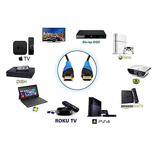 HP HDMI to HDMI 1mtr Cable (5NA69PA)