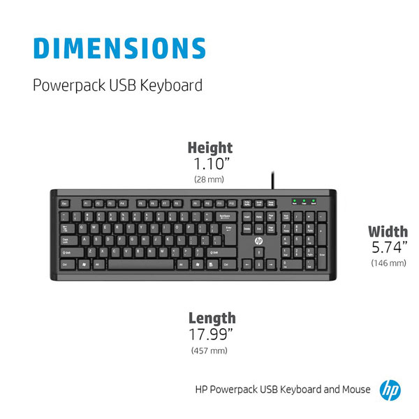 hp powerpack usb keyboard mouse combo 2